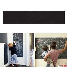 Erasable Blackboard Wall Sticker 200X45cm W/ 5 Chalks