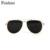 FEISHINI Balcões de Lojas de Grife Estrela Óculos de Sol Óculos de Aviador Homens 2017 de Alta Qualidade de Cobre REVO Eyewear Goggle Mulheres Espelho de Ouro