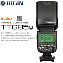 Godox TT685C Camera Flash 2.4GHz Wireless Transmission+E-TTL II Autoflash (GN60, High Speed Sync 1/8000s) For Canon EOS Camera