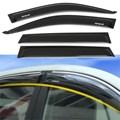 4 Unids/set Ventanilla Del Coche Puerta Visor Toldos Escudo Intemperie Sol Guardia Vent Shade Lluvia Deflector Para TOYATA RAV4 2003 Coche Styling