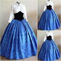 18 Century  Civil War Southern Belle Gown evening Dress/Victorian Lolita dresses/scarlett dress US6-26 SC-954