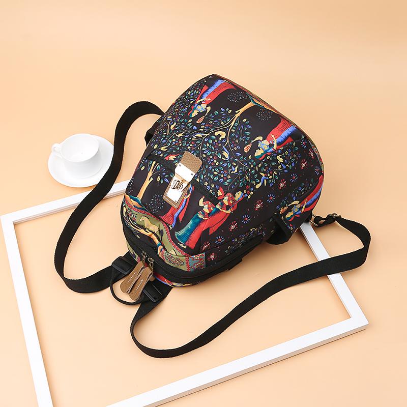 2019 New Women Emoji Shoulder Bag Best Travel Women Backpack Female Printing Waterproof School Knapsack mochila Bagpack Pack 26