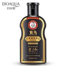 200ml  honeylocust ufa raise hair nourishing oil control dandruff Radix polygoni multiflori dandruff nourishing shampoo