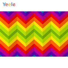 Yeele Wall Decoration Photocall Colorful Chevron Photography Backdrops Personalized Photographic Backgrounds For Photo Studio