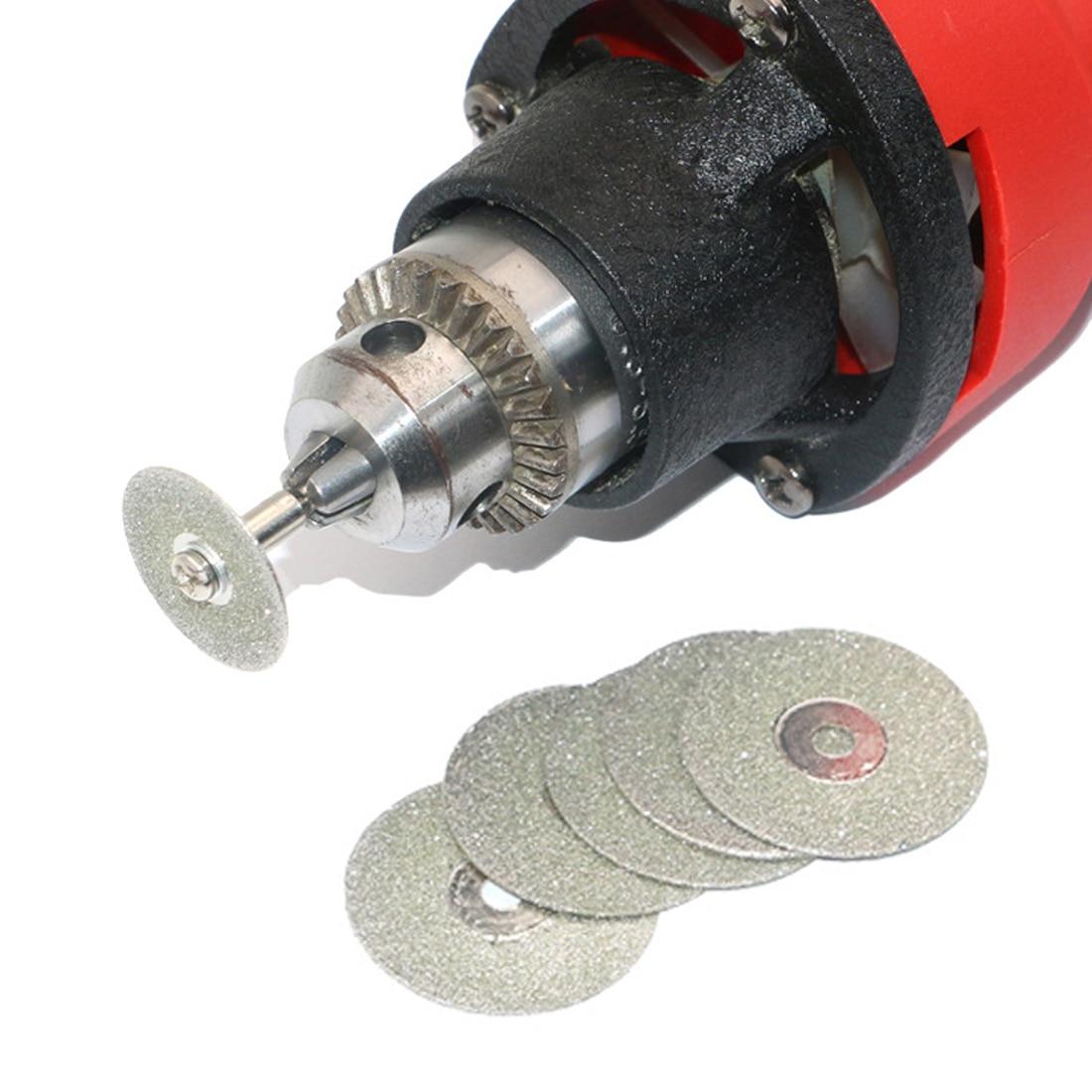 Top Accessories Diamond Grinding Wheel Saw Mini Circular Saw Cutting Disc Rotary Tool Diamond Disc For Dremel Rotary Tools