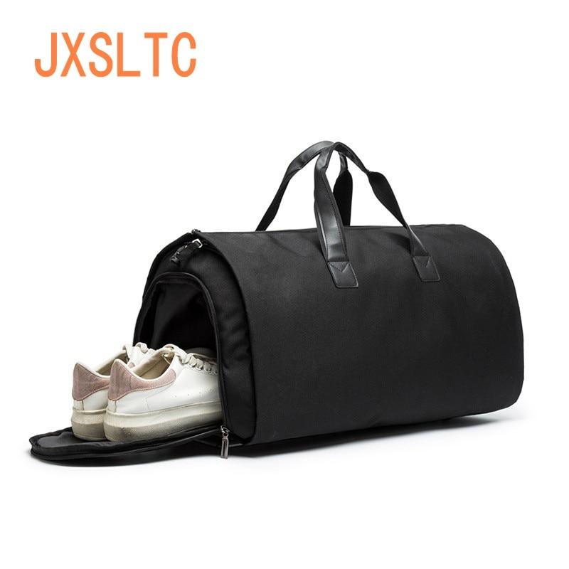Men Travel Bag Picnic  In Clothing Large Capacity Multi-function Bag Foldable Oxford Cloth Duffle Business Suit Bag Shoulder Bag