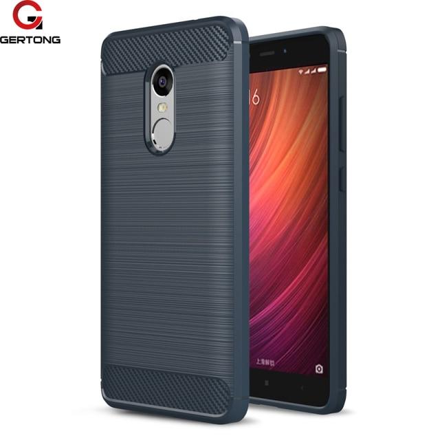 Soft Silicone Cover Back Phone Case For Xiaomi Redmi Note 4 Case Global 5A Mi5 X Mia1 Carbon Fiber Shell For Redmi Note 4X Pro