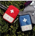 Empty First Aid Pouch Houshold Drugs Bag Mini Kit Storage Travel Portable Medical Emergency Package