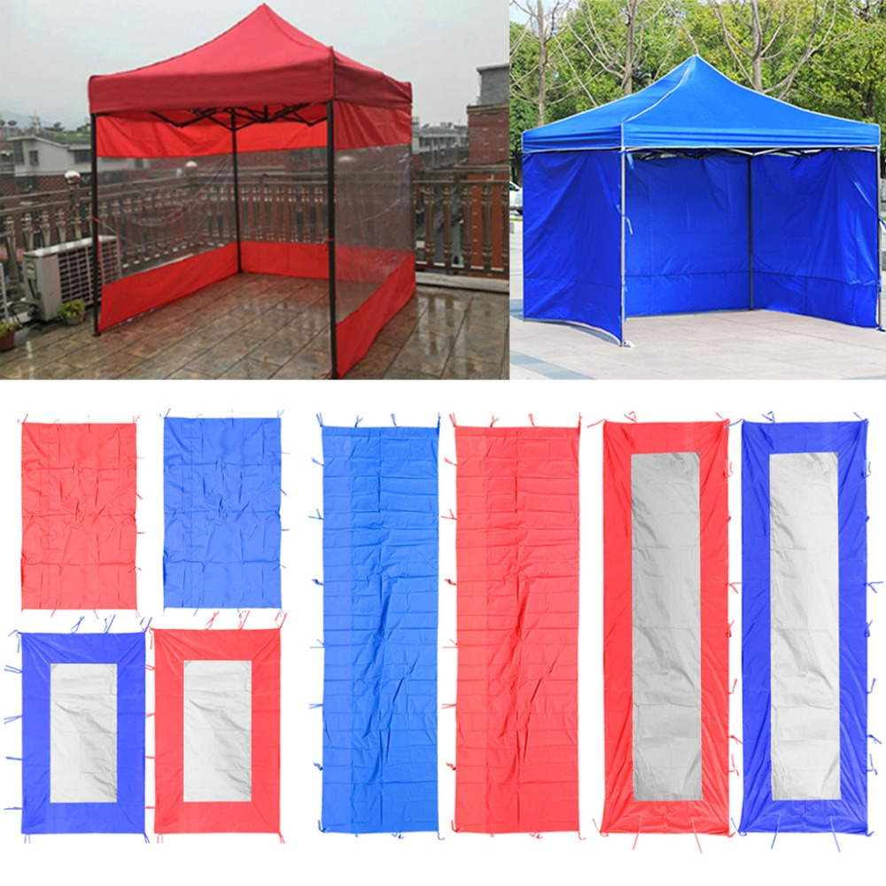 Waterproof Instant Canopy Tent Sidewall Sun Shade Shelter Outdoor Camping Accessories Windproof Waterproof Sun Wall Sunwall