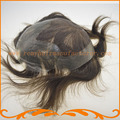 2016 Новое прибытие мужчины волосы парик базы 7*9 дюймов швейцарский шнурок и вокруг ПУ реми волос парики выглядит очень естественно бесплатно доставка