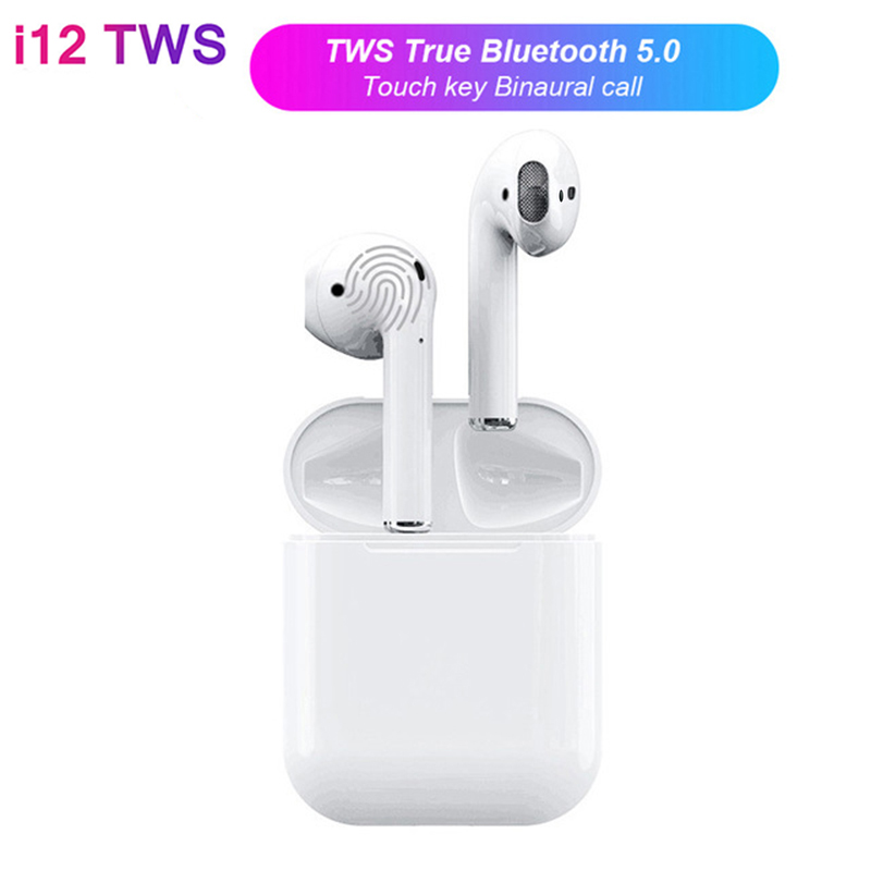 Air i12 TWS Mini Wi-fi Bluetooth V5.zero Earphone Pods Contact Management Binaural Name Earbuds PK I10 For iPhone Android Xiaomi Bluetooth Earphones & Headphones, Low cost Bluetooth Earphones &...