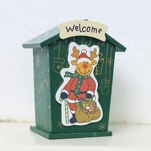 Image 2 - Новинка, Рождественская жестяная мини коробка для конфет, детские подарки, мультяшная копилка, Подарочная коробка, коробки для хранения, банки