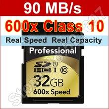 Marke 600×32 GB Sd-karte 32 gb class 10 Flash Memory karte für canon nikon casio fujifilm olympus panasonic samsung digitalkamera