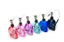 1PC New Top Brand Skull Head 6 Colors Water Pipe Smoking Tobacco Herb Mini Shisha Set Perfect Gifts for Smoker Portable Hookah