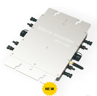 1200 Вт Мощность инвертор IP65 Солнечный микро сетки галстук инвертора Microinverter инверсор WVC1200 с Беспроводной мониторинга Функция