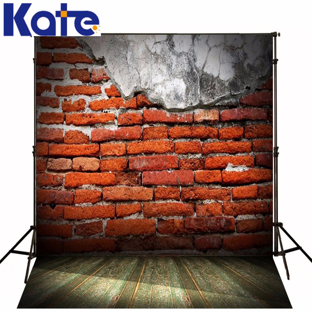 Photography Backdrops Old Red Brick Wall Wood Brick Wall Backgrounds For Photo Studio Ntzc-124 whatlees red brick sweatshirts for men