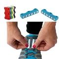 1 Par Zapatillas de Deporte Hebillas Magnética Cierre de Cordones Sin Corbata Cordón Hebillas Hebillas de Los Zapatos Zapatos Casuales Magnética Magnética De Funcionamiento