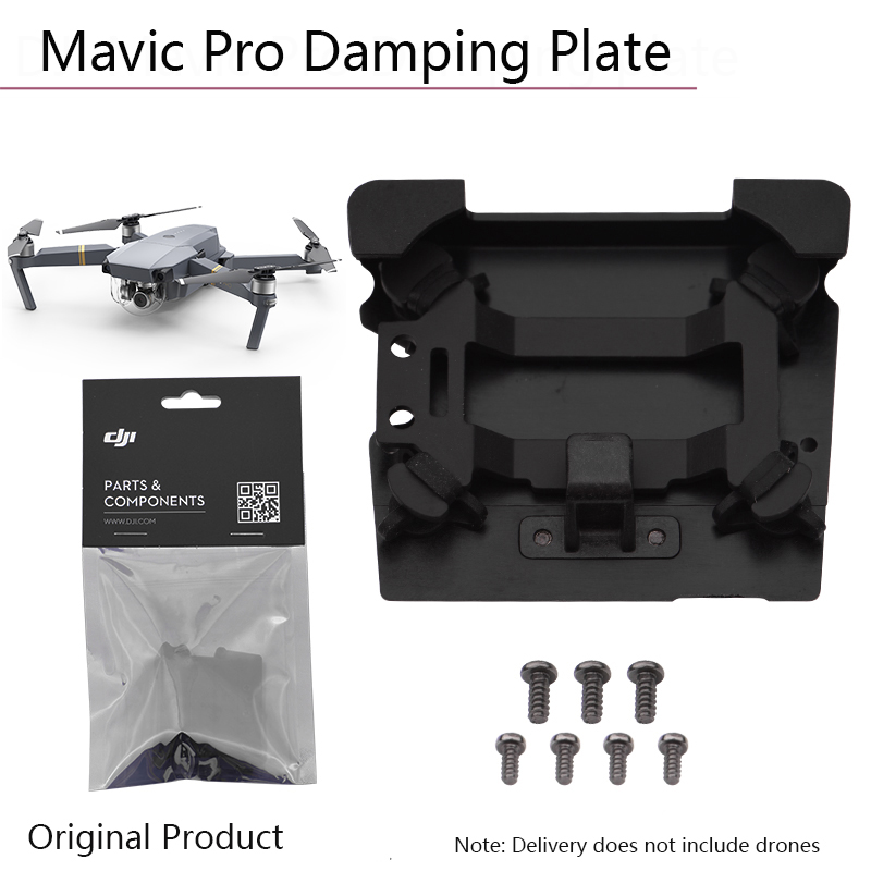 Original Gimbal Camera Vibration Absorbing Board For DJI Mavic Pro Shock Damping Plate Mounting Damper Panel Parts Accessories