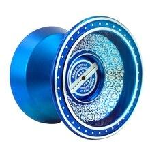 цена на BEBOOYOYO New Metal Yoyo Professional Yoyo Set Yo Yo + Glove + 3 String L1 Yo-Yo Goods Classic Toys Gift Present