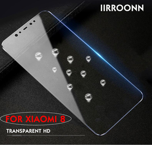 Image 2 - Xiaomi mi 8 se lite 용 무광택 화면 보호기 xiaomi 8 lite se 용 강화 유리 6d anti blue light 강화 유리