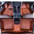 Бесплатная доставка ЕС утверждения волокна кожи автомобиль коврик для skoda superb combi 2-го поколения 2009 2010 2011 2012 2013 2014