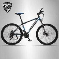 LAUXJACK Mountain Bike Aluminium Frame 24 27 Speed Shimano Mechanic Brake 26 Wheel