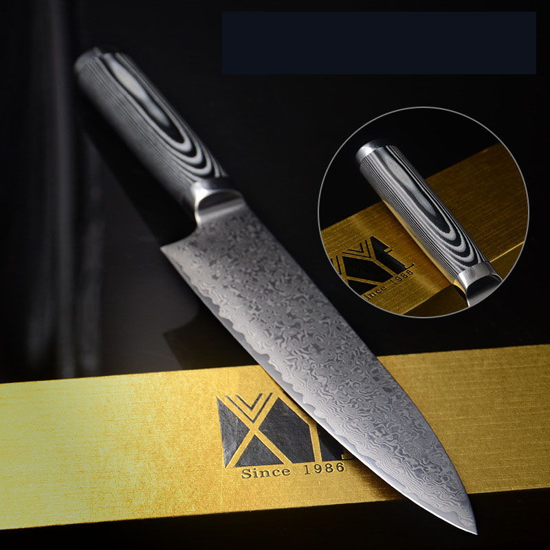 end kitchen knives high quality stainless steel damascus knives 8 inch chef