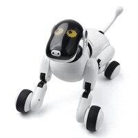 Пульт дистанционного управления Умная Электронная Собака 1803 2,4 г беспроводной умный говорящий робот собака Электронные Животные детские и