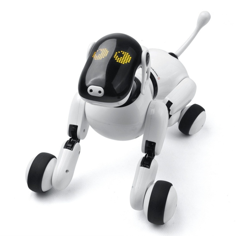 Remote Control Smart Electronic Dog 1803 2.4G Wireless Intelligent Talking Robot Dog Electronic Pet Kids Toys Birthday Xmas Gift 2 4g wireless remote control intelligent robot dog children s smart toys talking dog robot electronic pet toy birthday gift