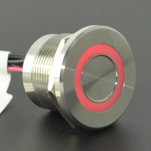Image 5 - High operation time IP68 316L interruptor de empuje piezoeléctrico de 3 colores RGB impermeable de acero inoxidable (22mm,PS223P10YSS1RGB24T,Rohs,CE)