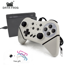 Data Frog Wired USB Game Controller For Nintend Switch NS Support Switch and PC Games Joystick