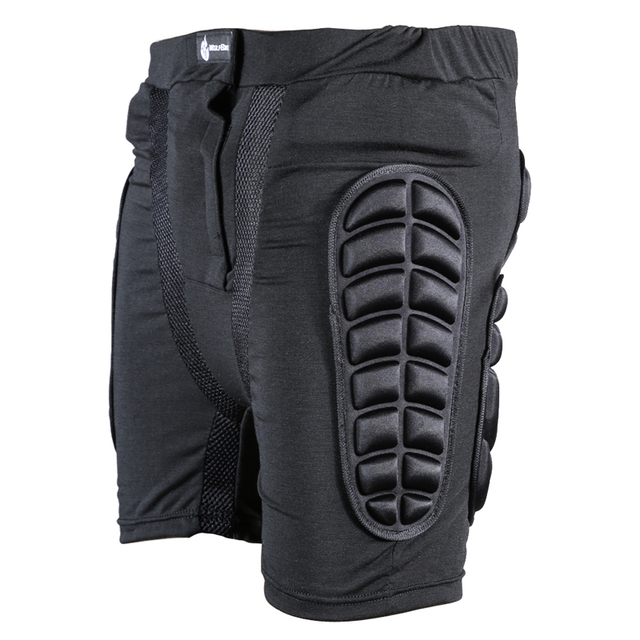 WOLFBIKE Sport Short Protective Hip Butt Pad Bicycle Ski Skate Snowboard Skating Protection Drop Resistance Roller Padded Shorts