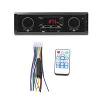 1 Din светодиодный дисплей Автомобильный Радио 12 В Поддержка FM Aux в приемнике USB MP3 радио плеер Авто аудио стерео автомобильный mp3-плеер