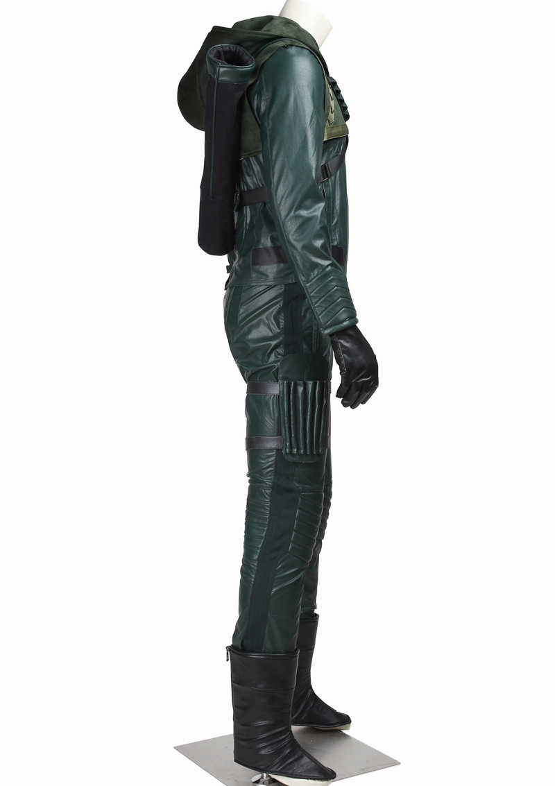 Details about  /Hot !Green Arrow Oliver Queen Cosplay Costume Full Suit Any Size !DS