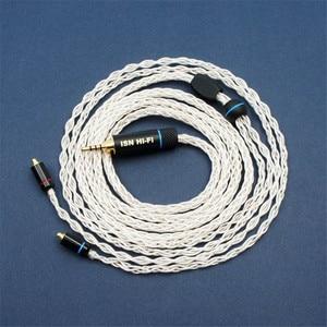 Image 1 - Isn s8 8 vertentes 19 núcleos de áudio de alta fidelidade audiophile iem fone de ouvido cabo