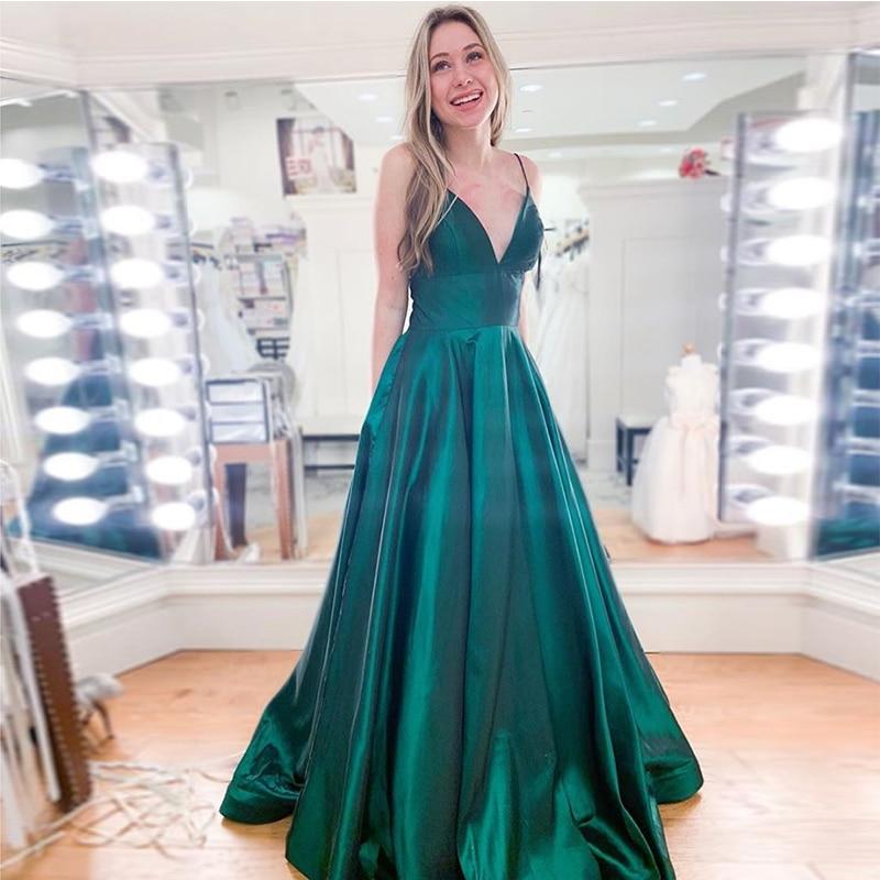 a line prom dresses,