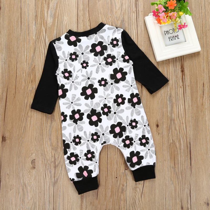 Fashion Baby Boy Girl Clothes Long Sleeve Floral Baby Rompers Newborn Cotton Jumpsuit Infant Clothing N3 newborn baby rompers baby clothing 100% cotton infant jumpsuit ropa bebe long sleeve girl boys rompers costumes baby romper