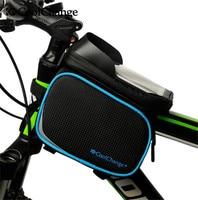 CoolChange Bike Saddle Bag MTB Waterproof Bike Bag Front Tube Saddle Cycling For 6 0 In