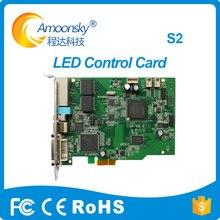 שקוף Led תצוגת Colorlight S2 led RGB שליחת כרטיס להחליף Led שולח כרטיס IT7 תמיכה 5A,5A 75,5A 75B 5A 75E I5A