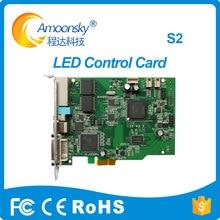 透明ledディスプレイcolorlight S2 led rgb送信カード交換led送信者カードIT7 サポート 5A、 5A 75 、 5A 75B 5A 75E I5A