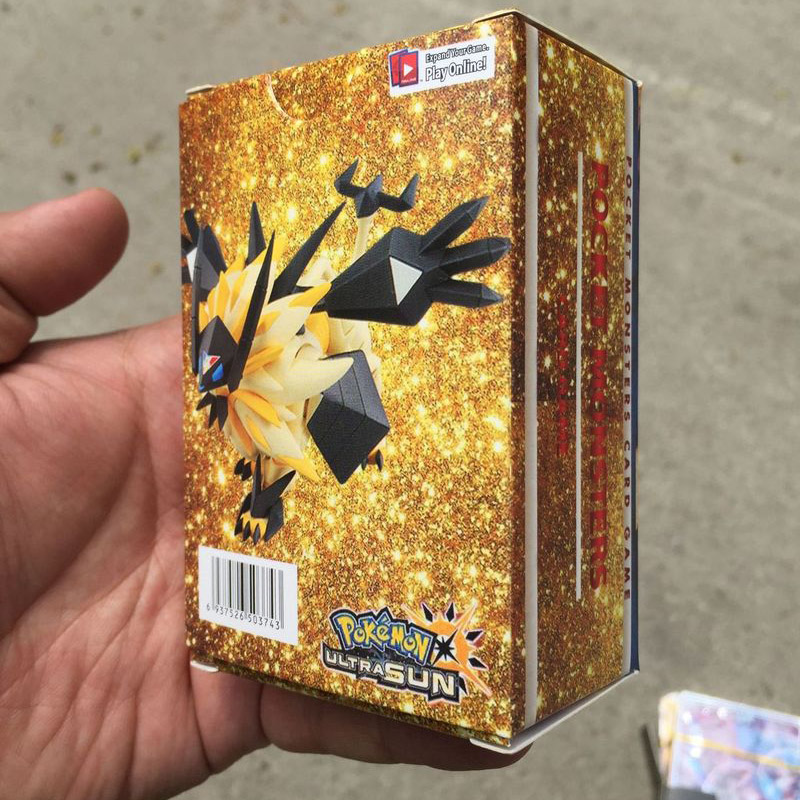 Image 2 - No Repeat 3box/set POKEMON Battle cartes CARDs GX Shining Game POKEMON toys set children dolls-in Action & Toy Figures from Toys & Hobbies