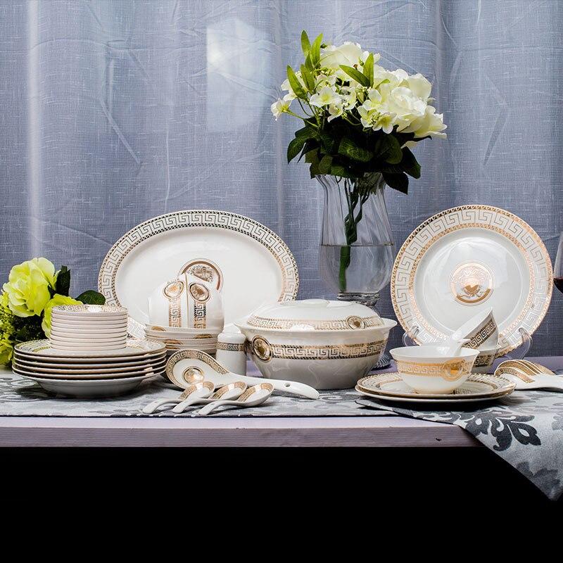 online buy wholesale porcelain dinnerware set from china porcelain dinnerware set wholesalers. Black Bedroom Furniture Sets. Home Design Ideas