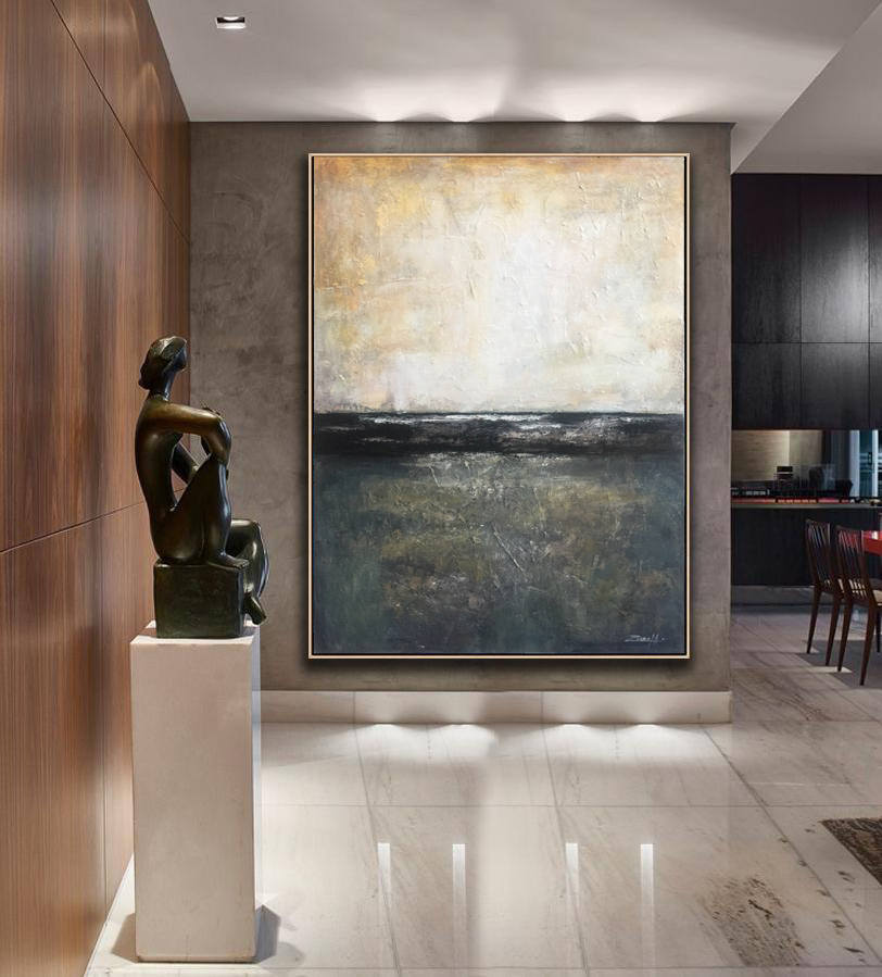 Large Decor Art Oil Abstract oil painting Painting On Canvas abstract Palette
