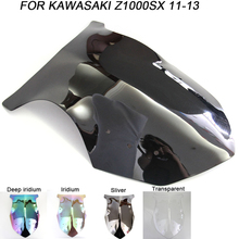 Black Motorcycle Motorbike Windshield For Kawasaki NINJA 1000 SX Z1000SX Z1000-SX 2011-2016 Windscreen Wind Deflectors Air Flow стоимость