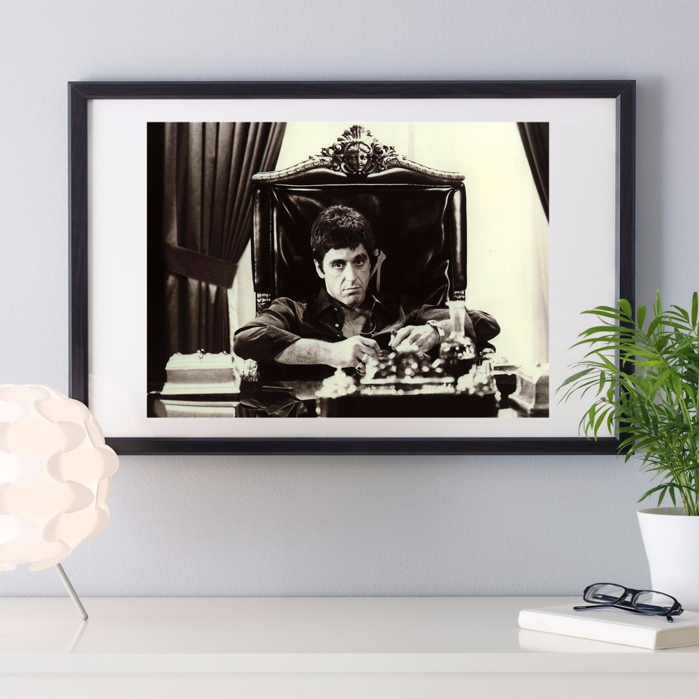 Buy scarface canvas wall art and get free shipping on aliexpress jeuxipadfo Images