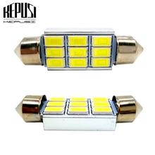 31mm 36mm 39mm 41mm Festoon Canbus LED bulb 5630 C5W C10W Auto Dome Light Car Vanity Lamp license plate light Styling White