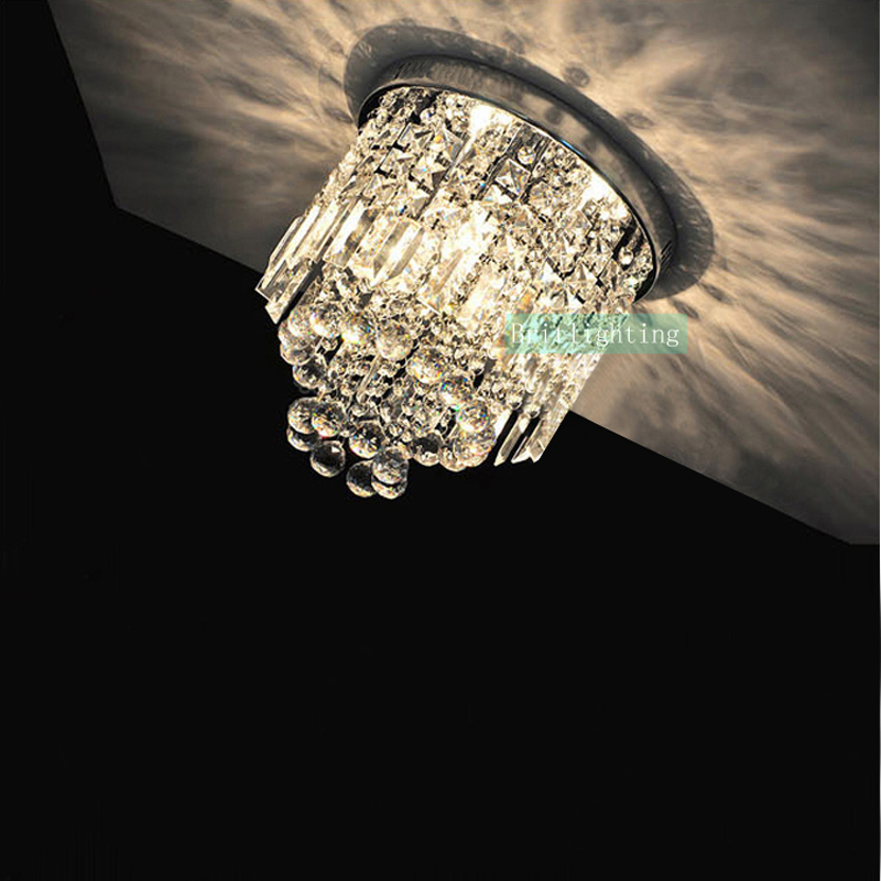 ФОТО surface mounted led ceiling light led modern crystal ceiling lamp for home contemporary ceiling lamp verand luxury crystal light