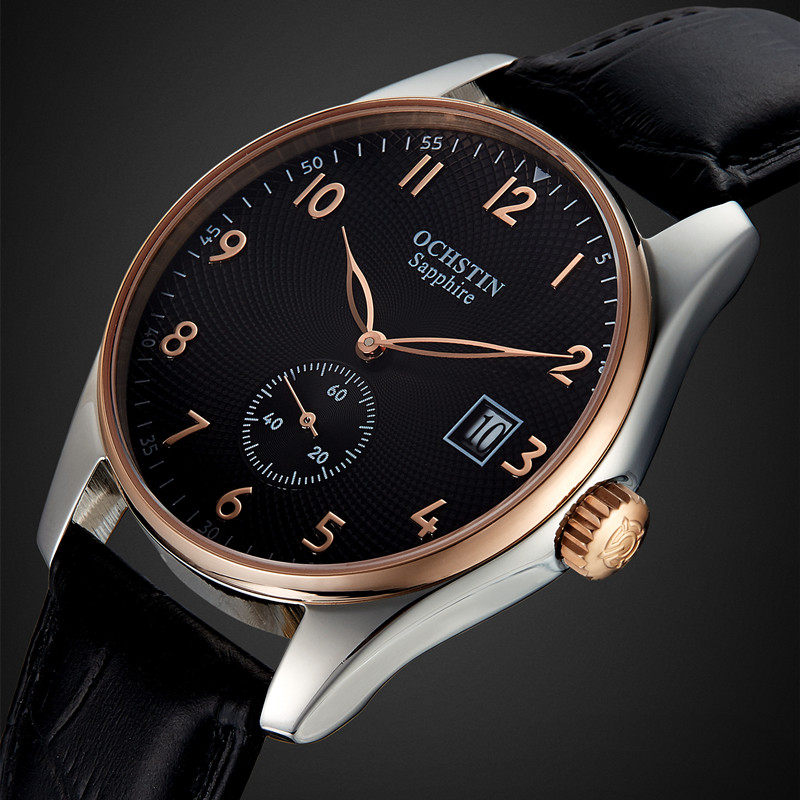 2016 Fashion Ochstin Quartz Wrist Watch Men Clock Famous Top Brand Luxury Military Watches Sport Quartz
