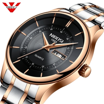 NIBOSI 2019 Watch Men Top Brand Luxury Military Army Sports Casual Waterproof Mens Watches Quartz Stainless Steel Wristwatch