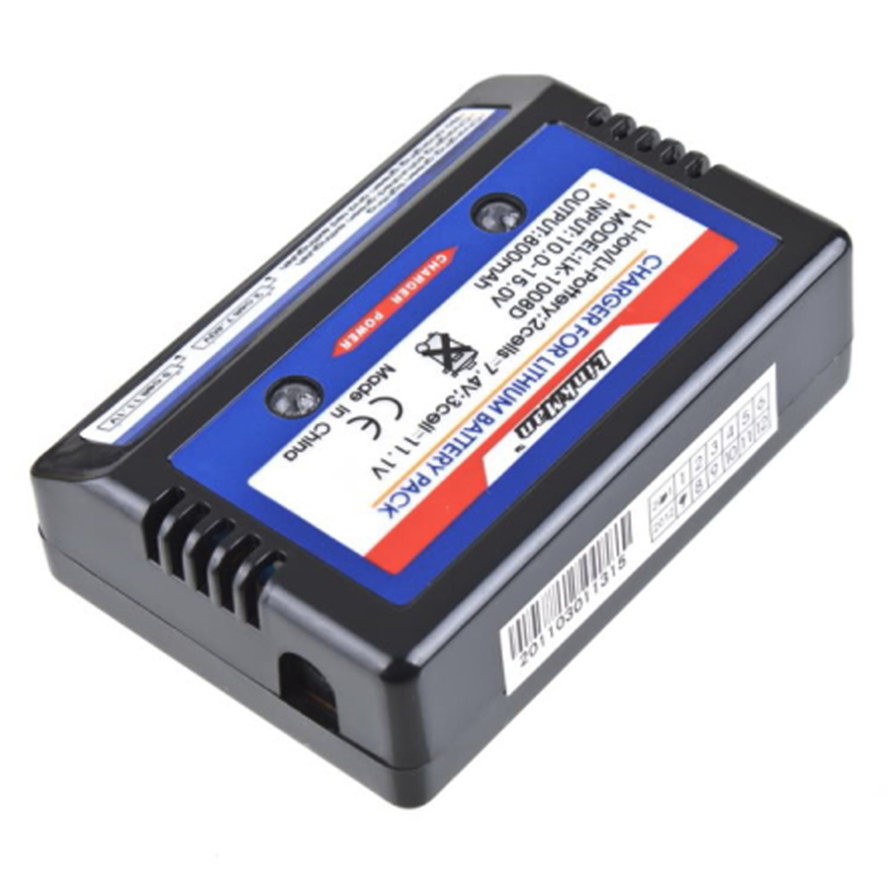 RC Battery Charger Balance charger for 7.4-11.V 2-3S 2S 3S Cells Li-PO Battery RC Car Airsoft Air Guns Free Shipping
